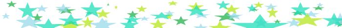 aqua amazing star banner