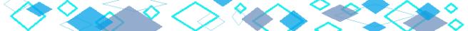 blue squares banner