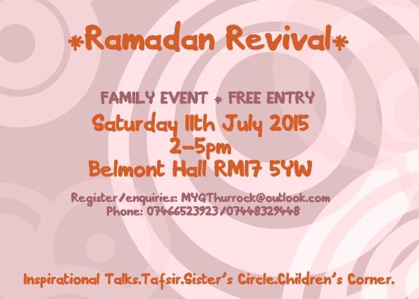 ramadan revival leaflet
