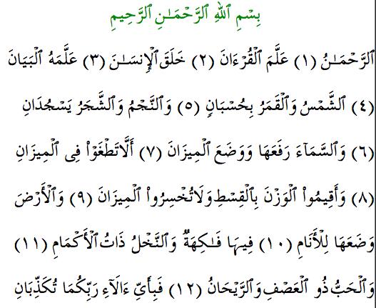 Quranexplorer.com chapter 55