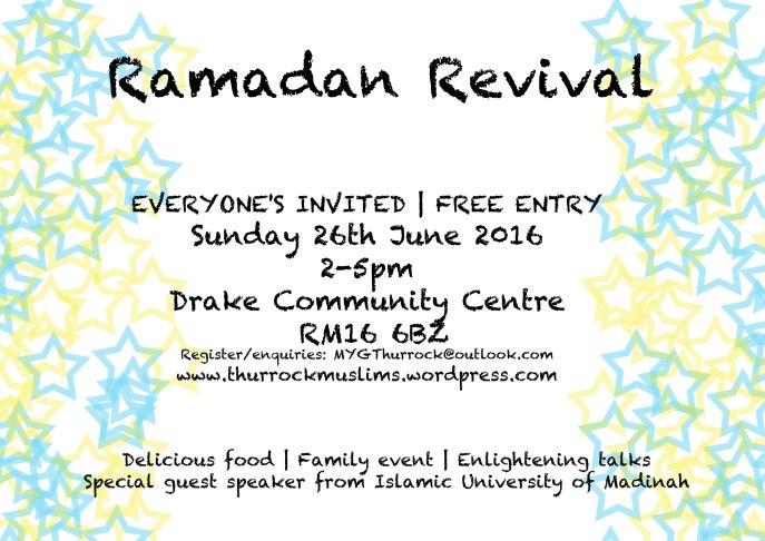 ramadan event 2016